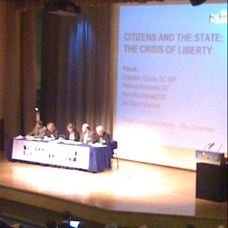 Liveblogging the Convention on Modern Liberty