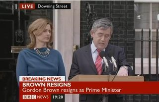 Brown+resigns