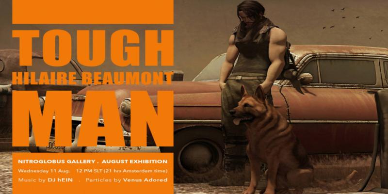 Poster Hilaire Beaumont - TOUGH MAN