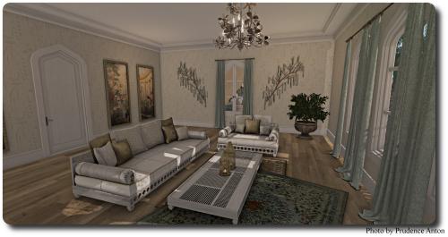 [Tia] Kaoutar Lounge Set 1
