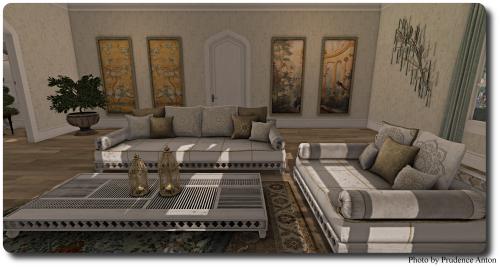 [Tia] Kaoutar Lounge Set 2