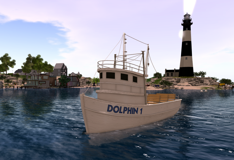Picture 2 - Water Taxi leaving lighthouse 2985x2048