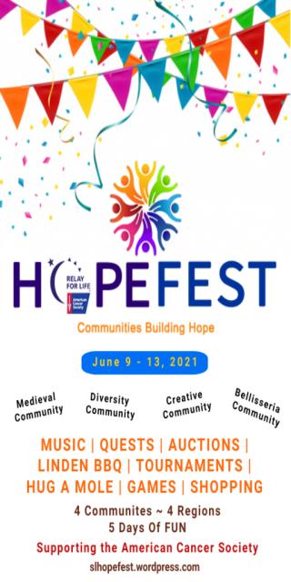 HOPEFEST - June 9 - 13 - A Multi Community Event