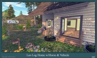 Leo Log Home Horse & Vehicle Rezzers